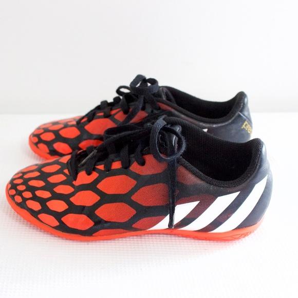 adidas Other - Boys Adidas Track Shoes Size 1 Orange   Black e2ccaff01